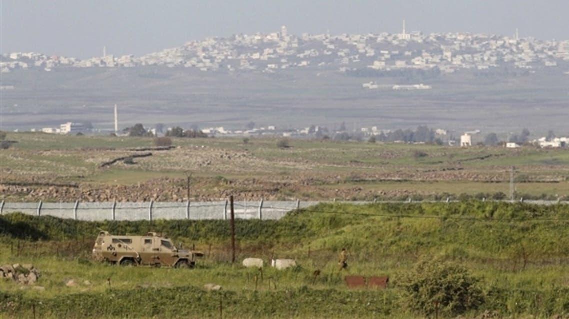 Golan Height Syria Israel