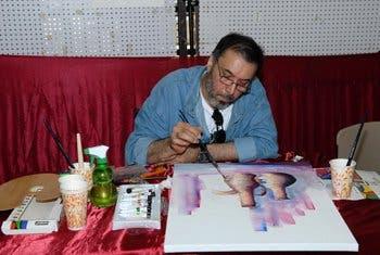 الفنان التشكيلي ناجي الحاي
