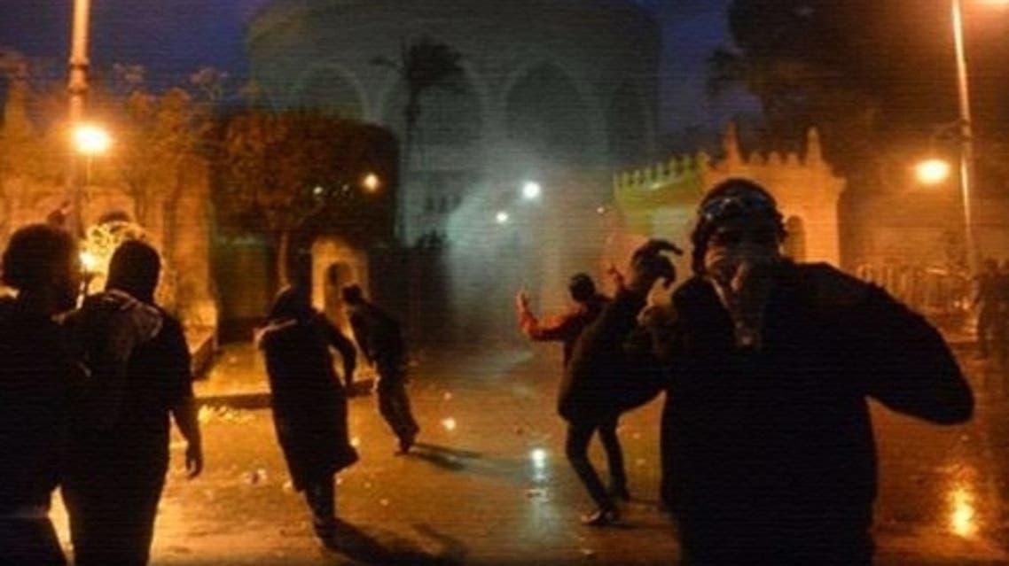 اشتباكات بين قوات الأمن ومتظاهرين حاولوا اقتحام قصر الاتحادية