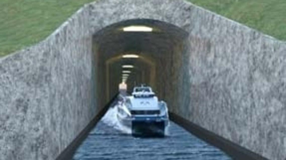 النرويج تخطط لحفر نفق للسفن