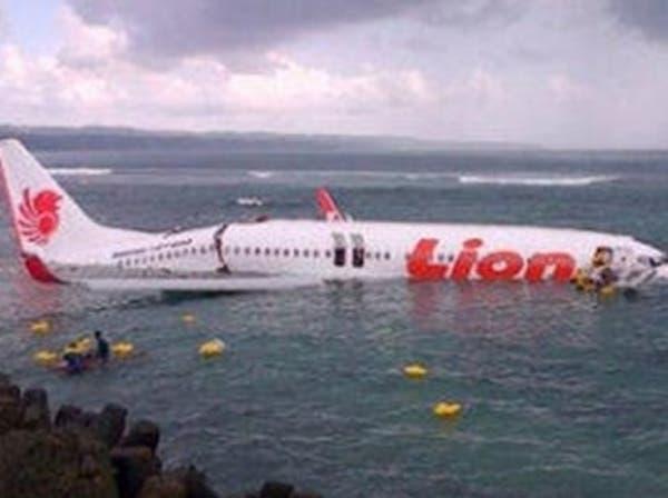 سقوط طائرة إندونيسية في البحر.. ونجاة جميع ركابها
