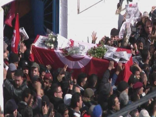 تونس تنشر صور مشتبه بهم في قتل بلعيد