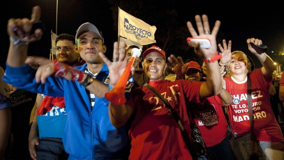 جانب من الانتخابات الفنزويلية