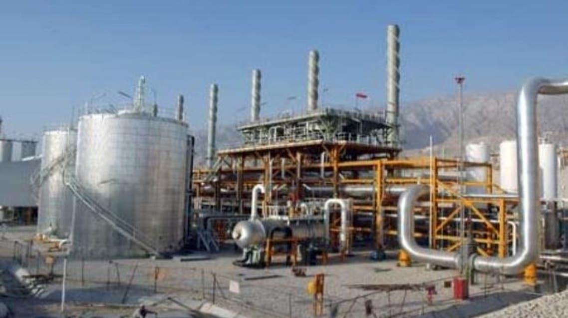 الغاز في ايران