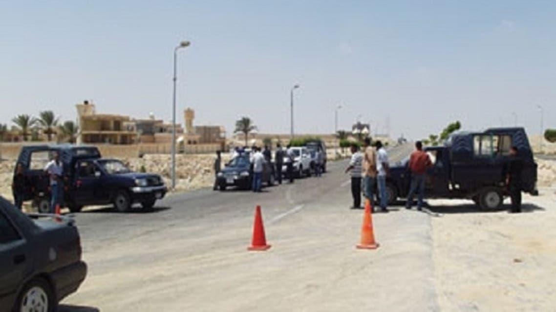 كمين للشرطة المصرية في العريش