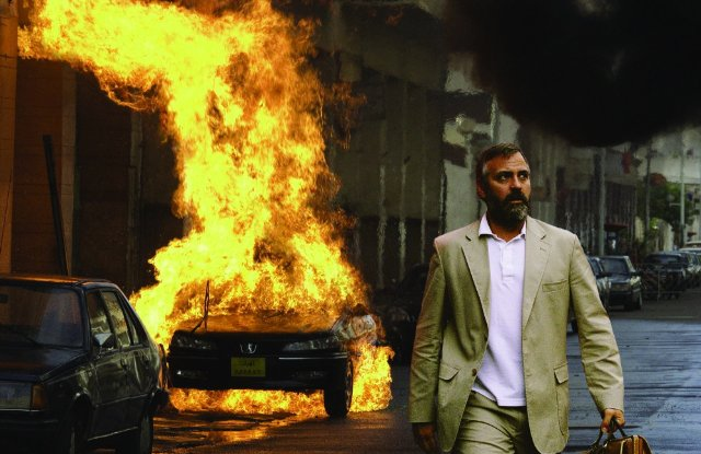 George Clooney in the movie Syriana (2005), which included scenes shot in the UAE. (Image courtesy Warner Bros. via IMBD)