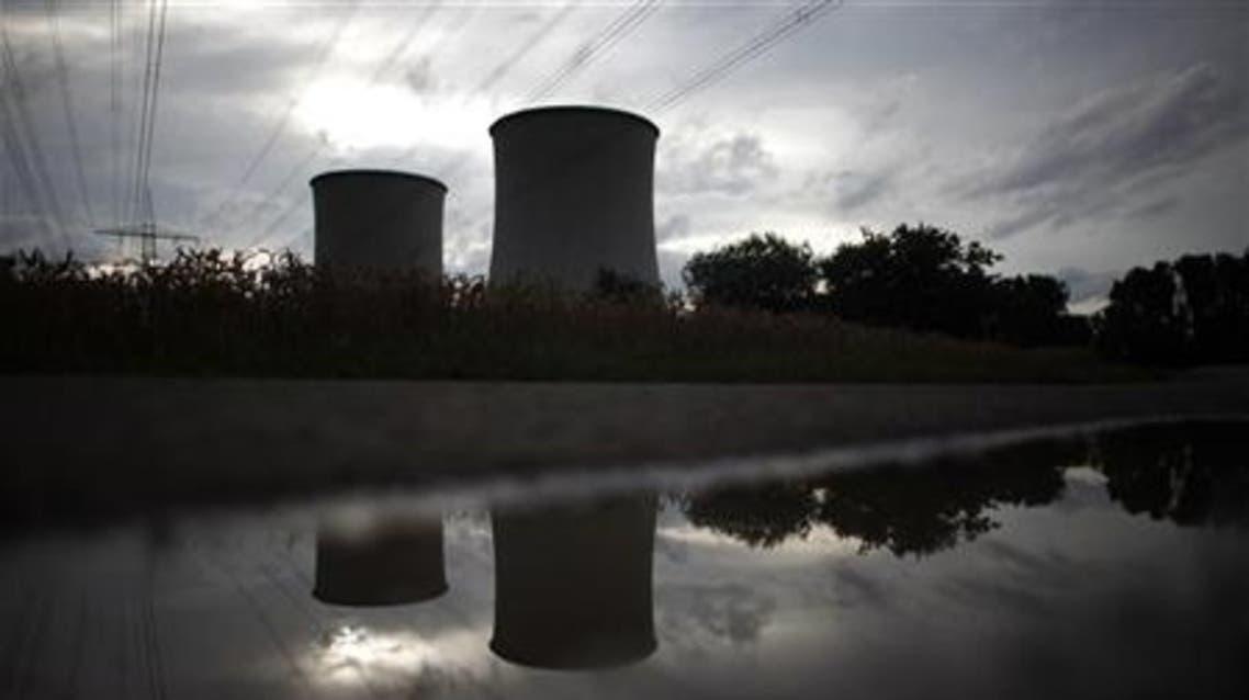 A nuclear power plant near Frankfurt, Germany. Saudi Arabia also plans to build nuclear power capacity. (Reuters)