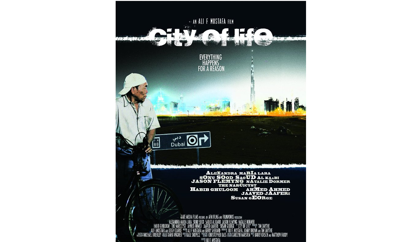Filmworks worked on the production of City of Life (2009), one of the UAE's first homegrown feature films. (Image via IMDB)