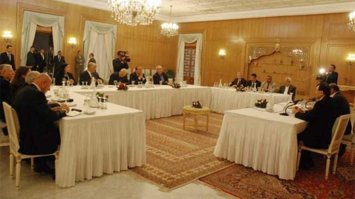 جلسات حوار تونس