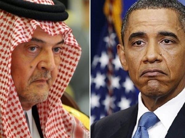 أوباما وسعود الفيصل يبحثان الأزمة السورية