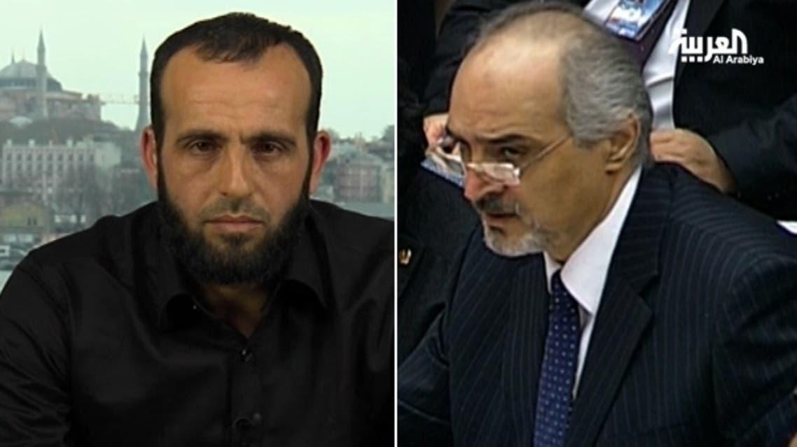 بشار الجعفري وعبدالقادر صالح