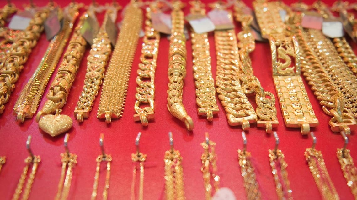 The gold price plunged by 9.1 per cent on April 15, the biggest one-day fall since 1983. (AFP)