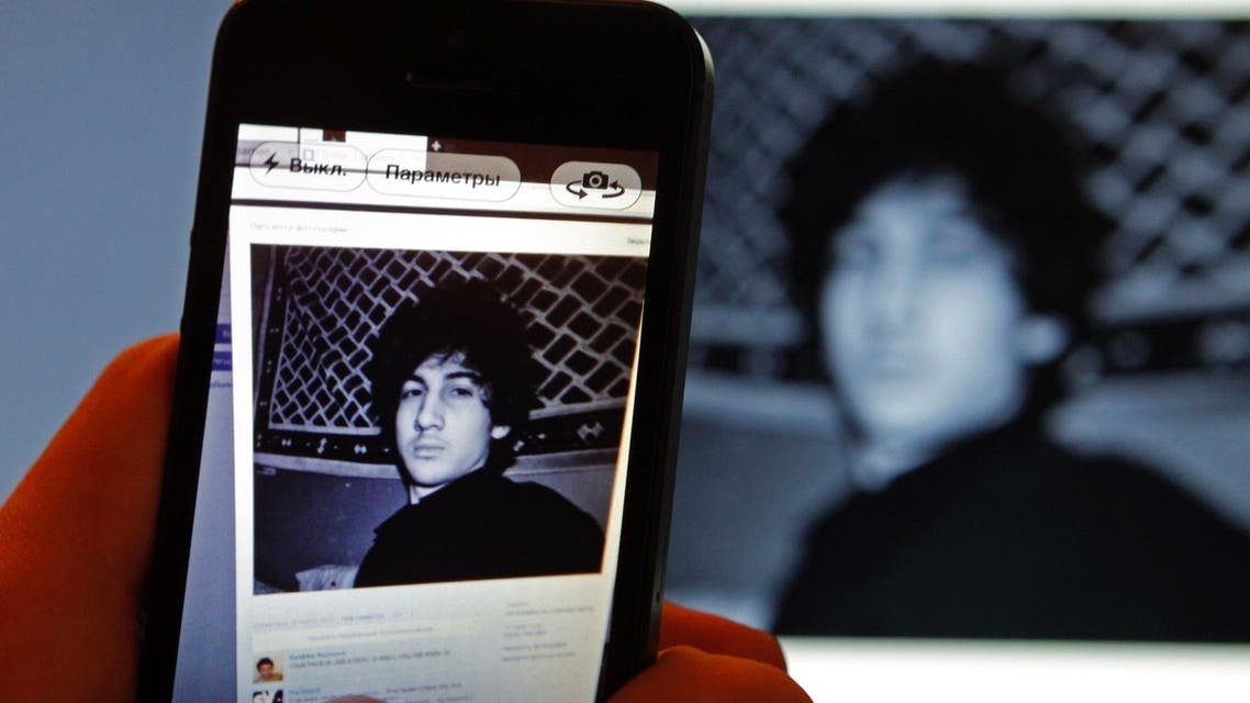 A photograph of Djohar Tsarnaev, who is believed to be Dzhokhar Tsarnaev, a suspect in the Boston Marathon bombing (Reuters)