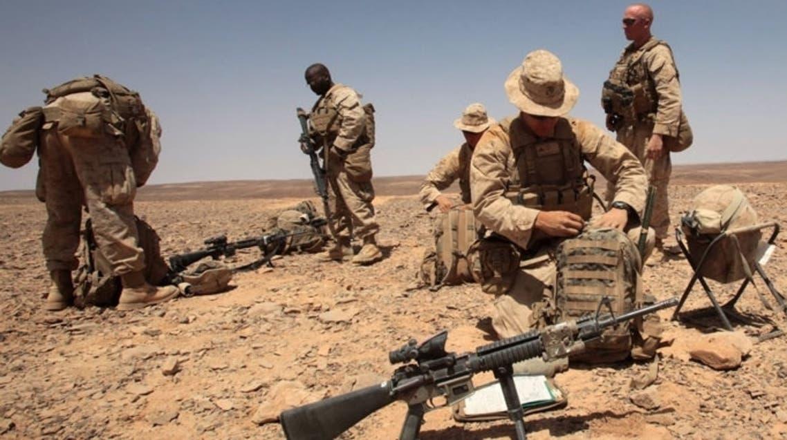 US TROOPS AFP