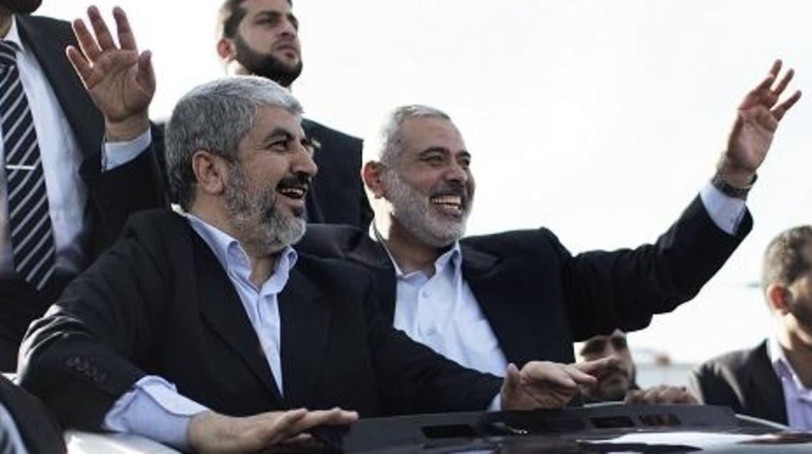 Hamas leaders AFP
