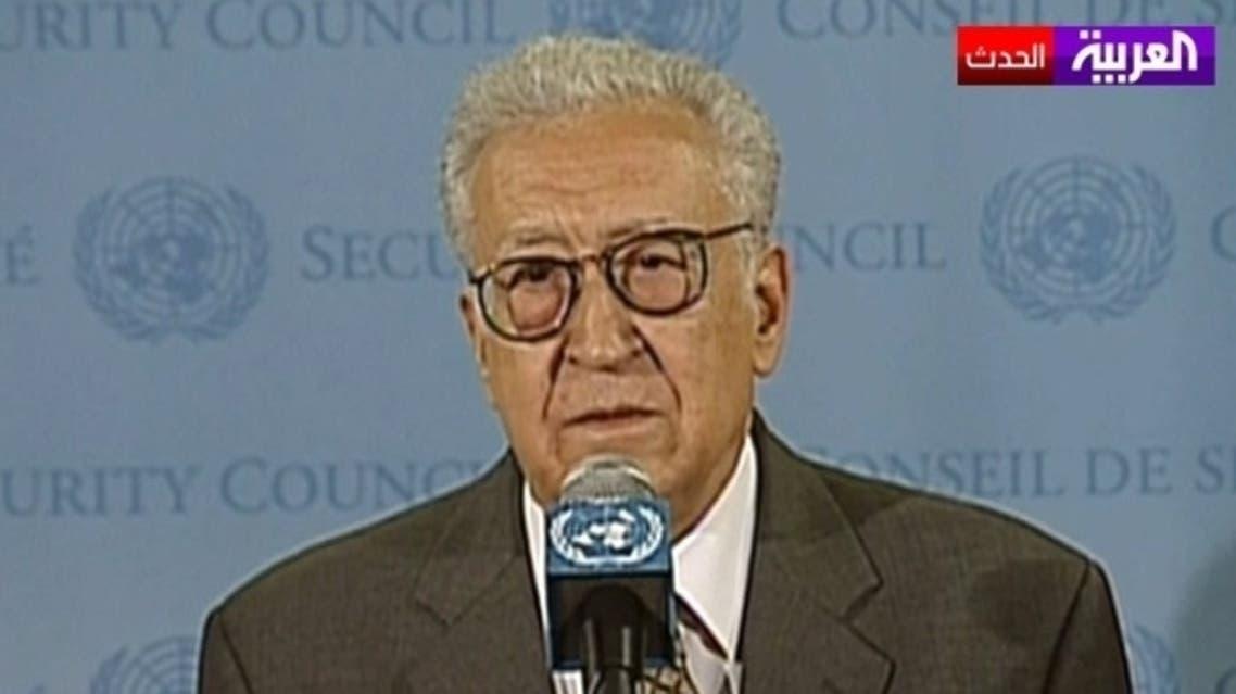 Lakhdar Brahimi AL Arabiya