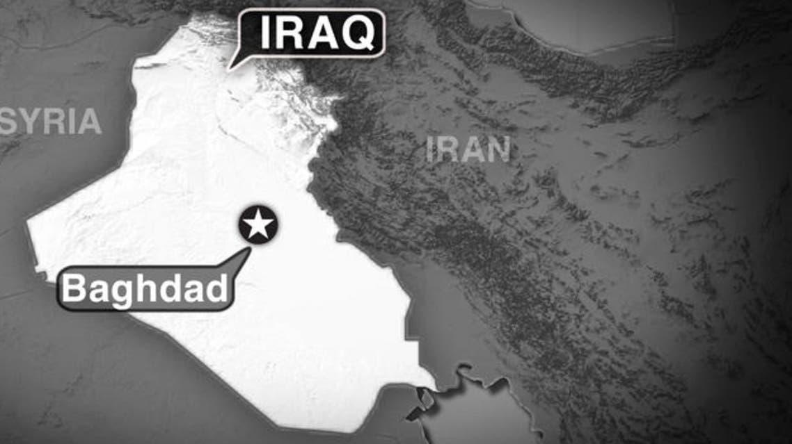 Iraq Baghdad MAP (AP)
