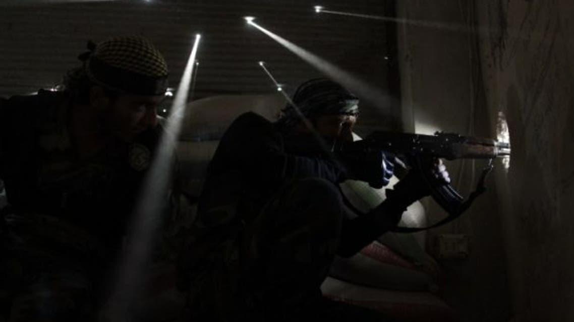 Syrian rebel Aleppo AFP
