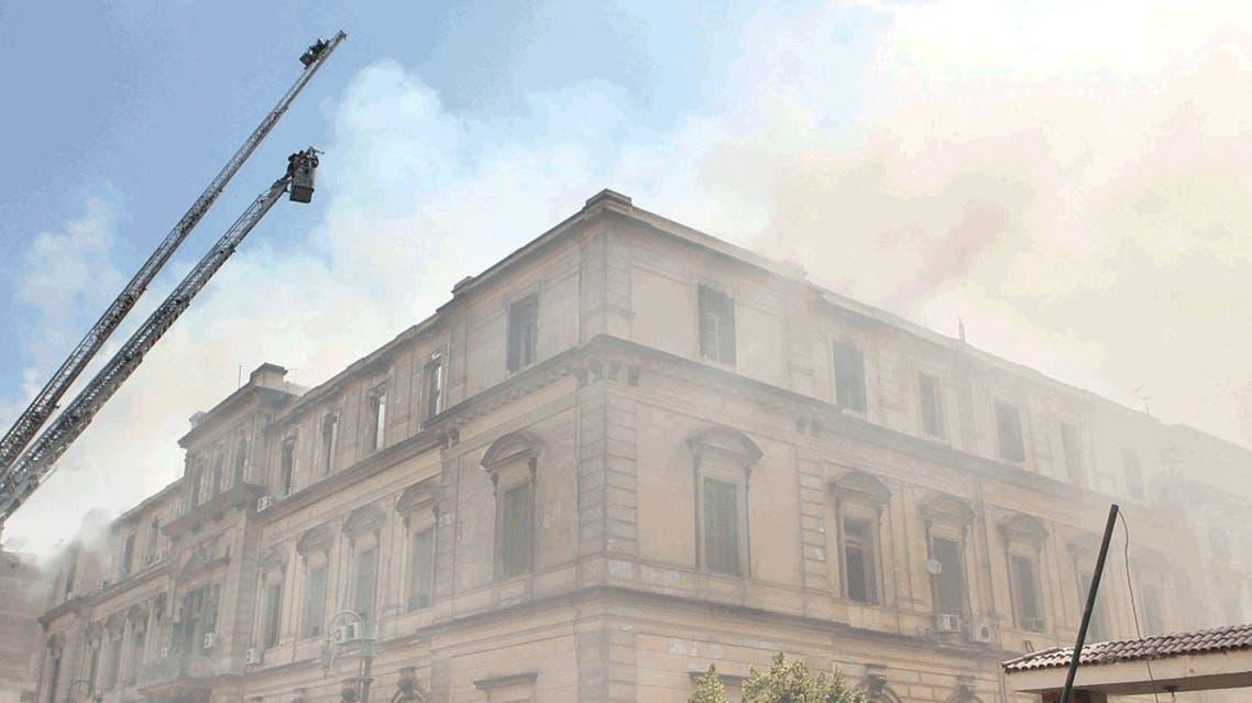 حريق سابق في مصر
