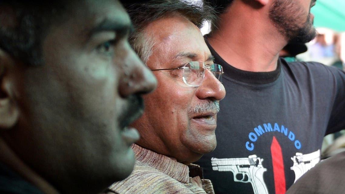 Musharraf AFP