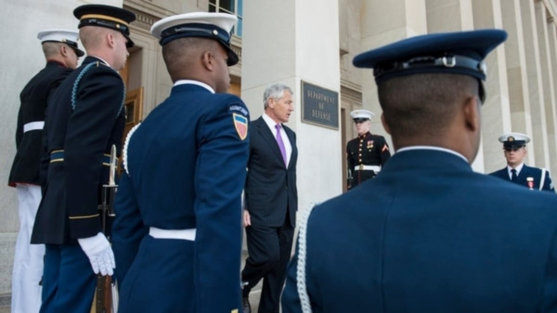 Hagel is expected to tout the arms deal as a demonstration of Washington's commitment to Israel's security. AFP