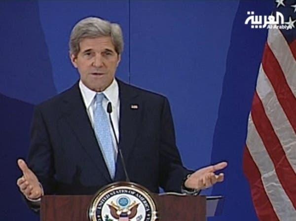 كيري: إيران خطر مشترك بين الولايات المتحدة وحلفائها