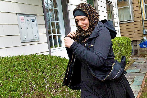 Katherine Russell, the American widow of Tamerlan Tsarnaev Polaris/Eyevine