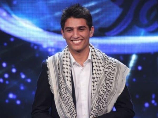 """عساف الفلسطيني في """"آراب آيدول"""": فلسطين ليست موال حزن"""