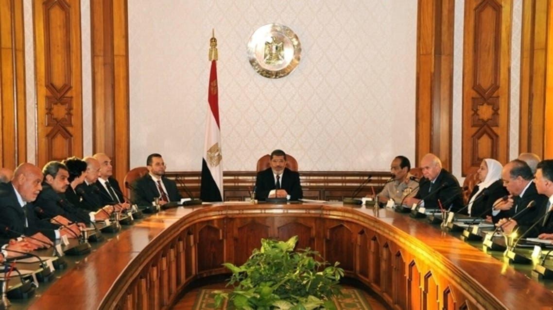 Egypt Cabinet AFP