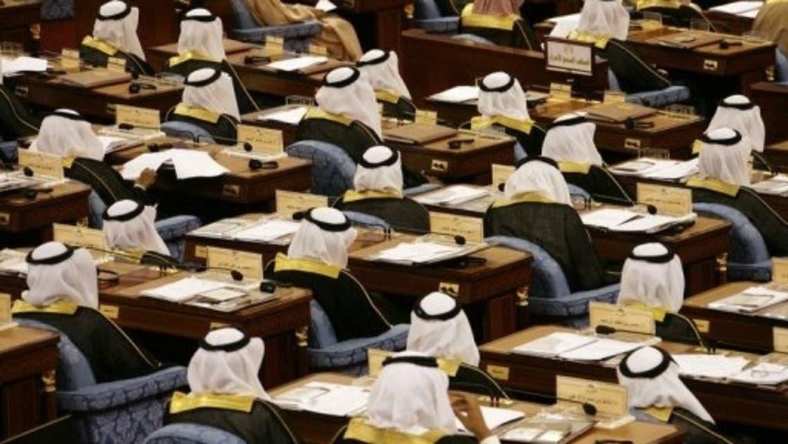 Saudi Shura Council members (AFP)