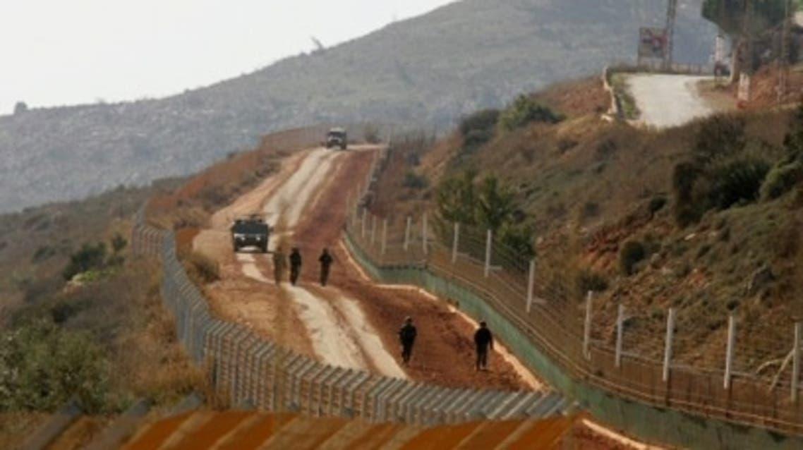 Israel Lebanon border (AFP)