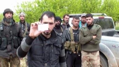 ثوار سوريون يستولون على سيارة ومعدات بحوزة عضو من حزب الله