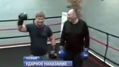 """رئيس الشيشان يجر وزير الرياضة إلى """"الملاكمة"""" لمعاقبته"""