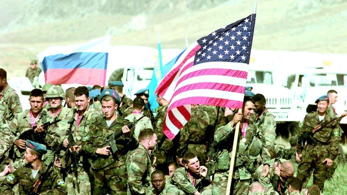 قوات أمريكية في مناورة حربية