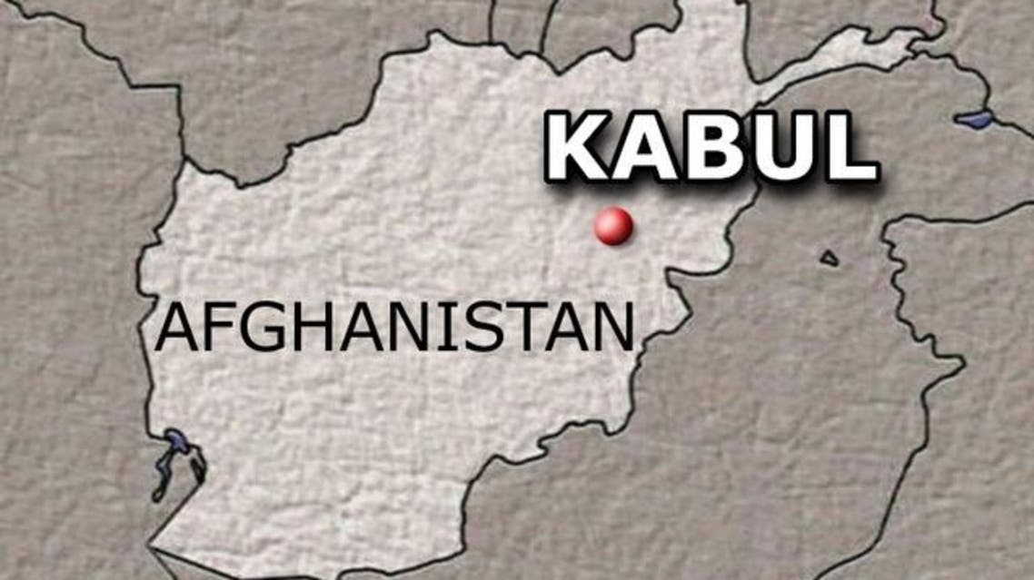 Afghan Kabul MAP (AP)
