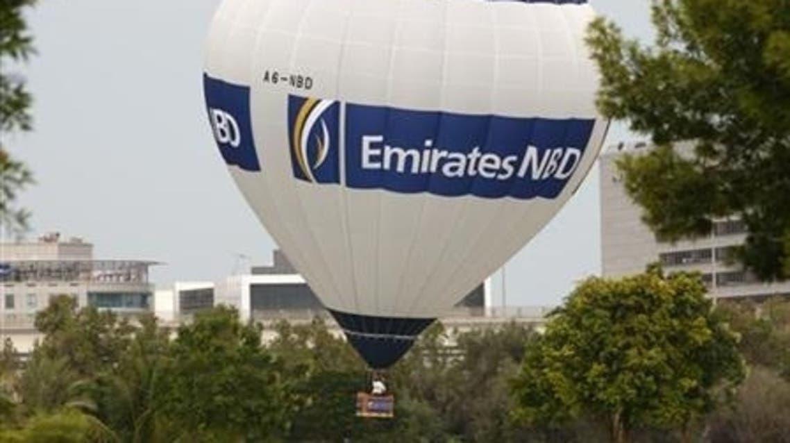 Emirates NBD said its first-quarter net profit rose 31 percent. (Reuters)