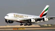 الإنترنت اللاسلكي مجاناً على طائرات الإمارات A380