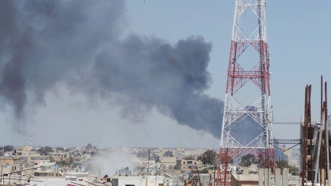 Syria Deraa (Reuters)