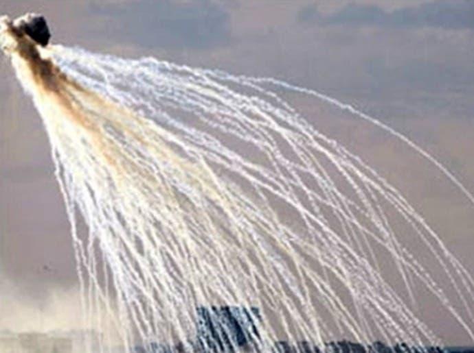 الجيش الإسرائيلي يعلن نيته وقف استخدام قنابل الفوسفور