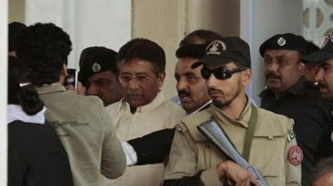 Musharraf Court Reuters