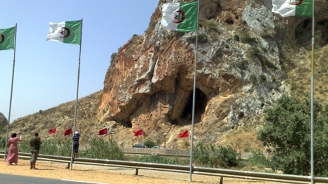 حدود الجزائر والمغرب