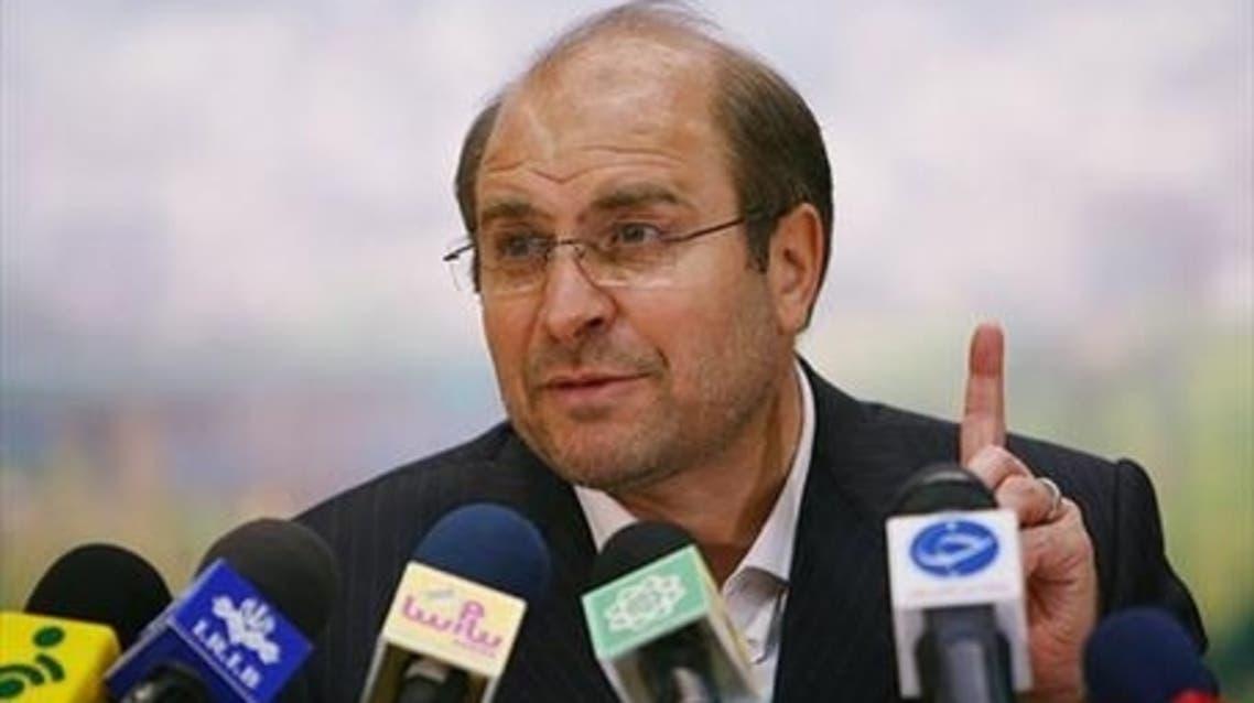 المرشح المستقل محمد باقر قالیباف