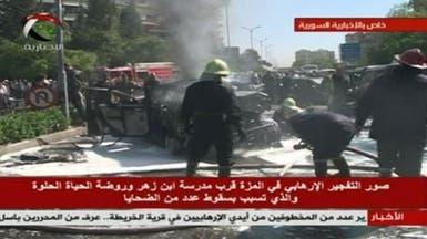 ظهور رئيس وزراء سوريا بعد محاولة اغتيال استهدفته