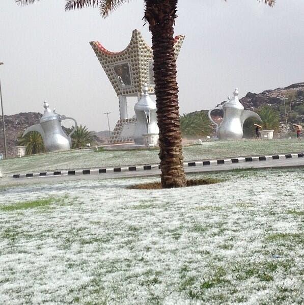 Saudi Arabian city of Hael