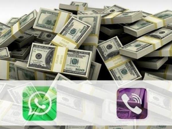 """""""واتس أب"""" و""""فايبر"""" يهددان شركات الاتصالات في العالم"""