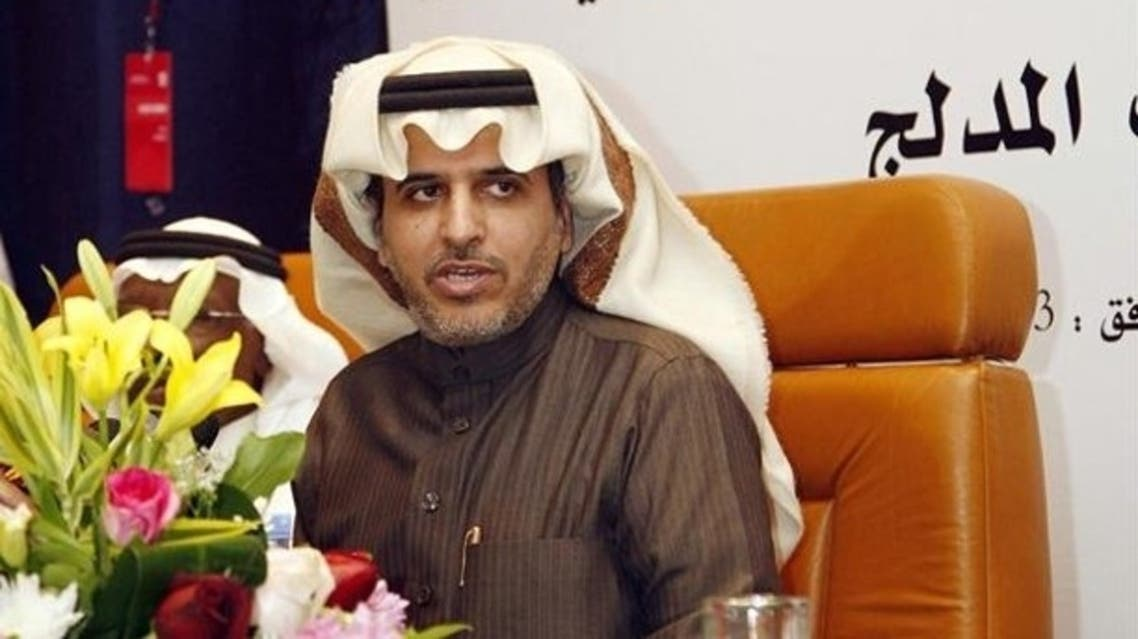 A file picture of Hafez Ibrahim al-Medlej of Saudi Arabia, candidate for presidency of the Asian Football Confederation (AFP)