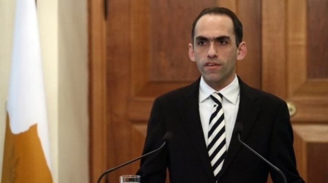 """Cyprus Finance Minister Haris Georgiades urged lawmakers to take """"a very difficult but necessary decision"""" on the bailout. (AFP)"""