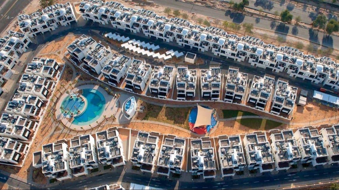 Aldar's Al Bateen Park residential development in Abu Dhabi. The developer today reported a 67.7 percent slump in first-quarter net profit. (Image courtesy Aldar)