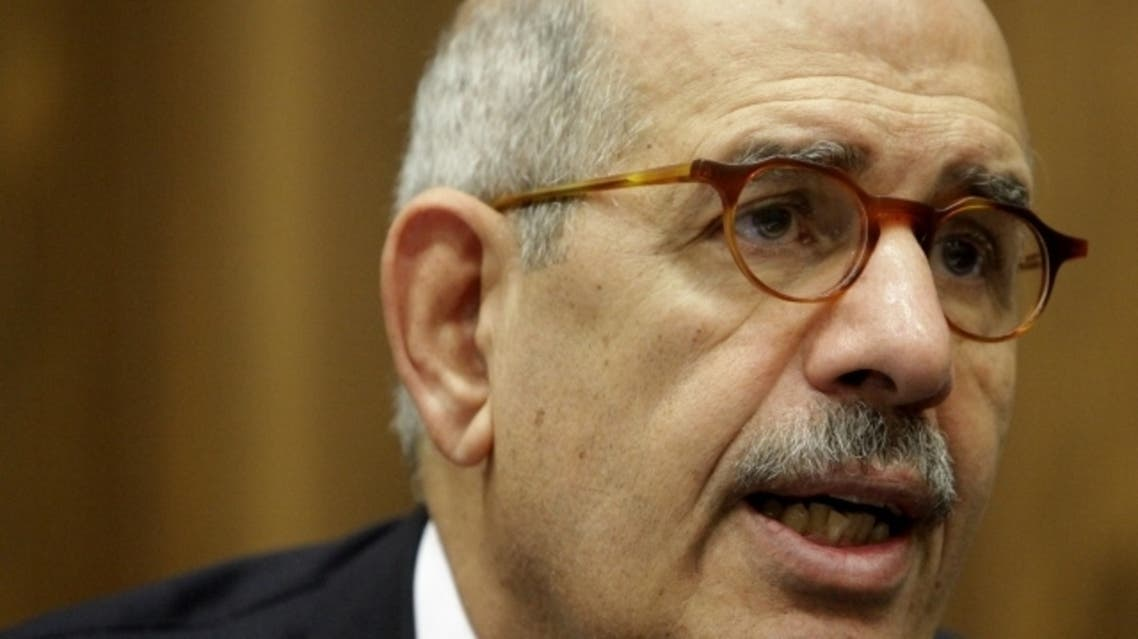 ElBaradei, pictured here in 2009, says Egypt must seek political compromise to win support for an IMF loan. (Reuters)