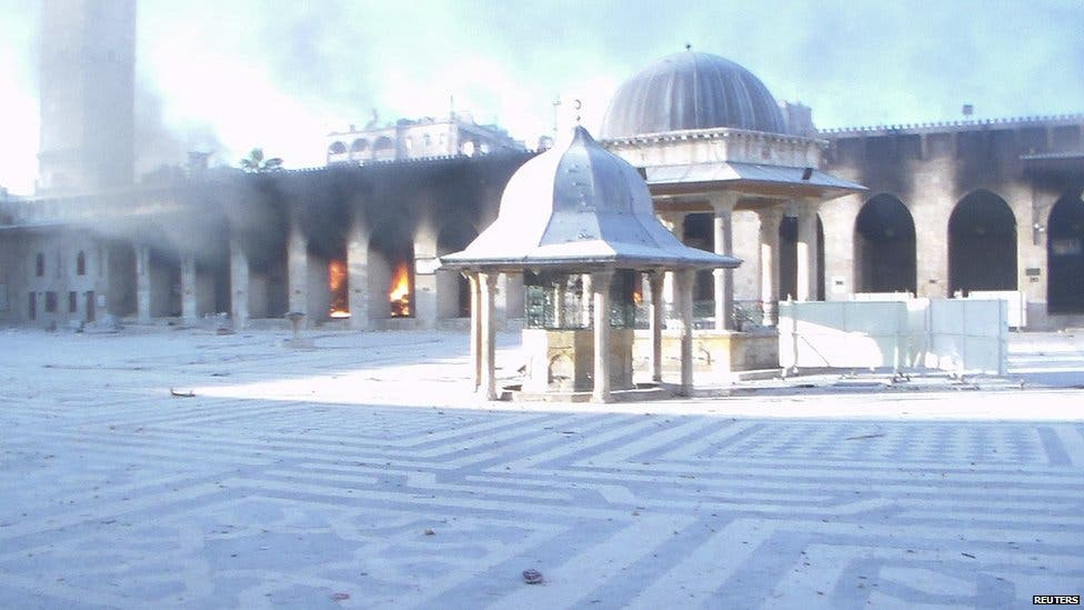 Syrian heritage a victim of ongoing conflict